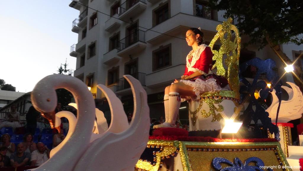 Carrozas Dénia 2015 – Carroza Falla Saladar