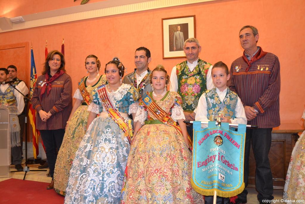 Darrere del castell recull el premi Enginy i Gràcia de primera categoria