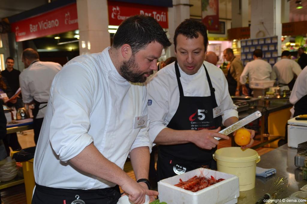 5º Concurso Internacional de Cocina Creativa de la Gamba Roja de Dénia – Cocineros