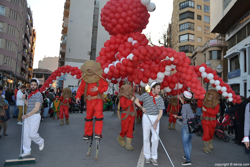 Dénia 2016 children's carnival - Parade