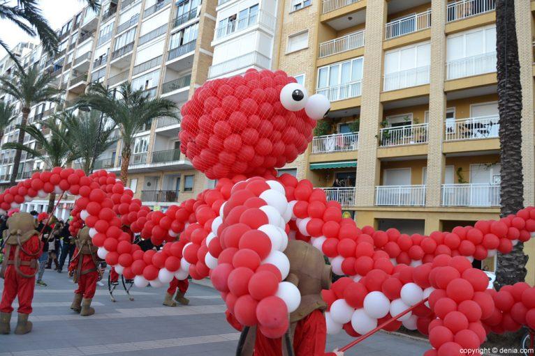 Children's Carnival Dénia 2016 - Parade