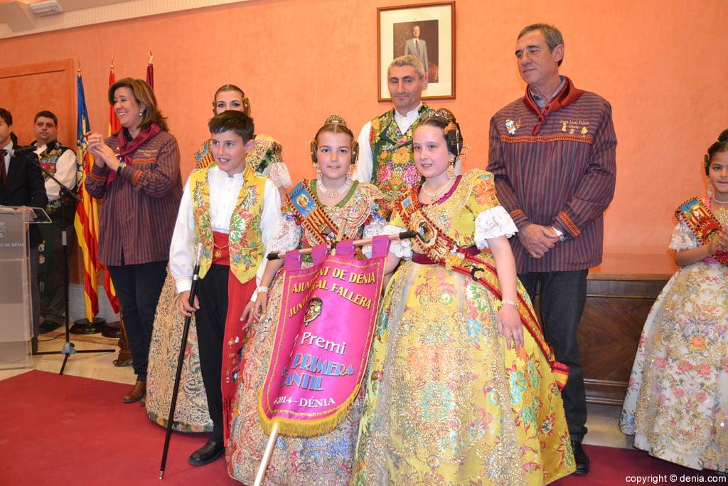 Falla Saladar – 2º Premio de categoría primera de las fallas infantiles de Dénia