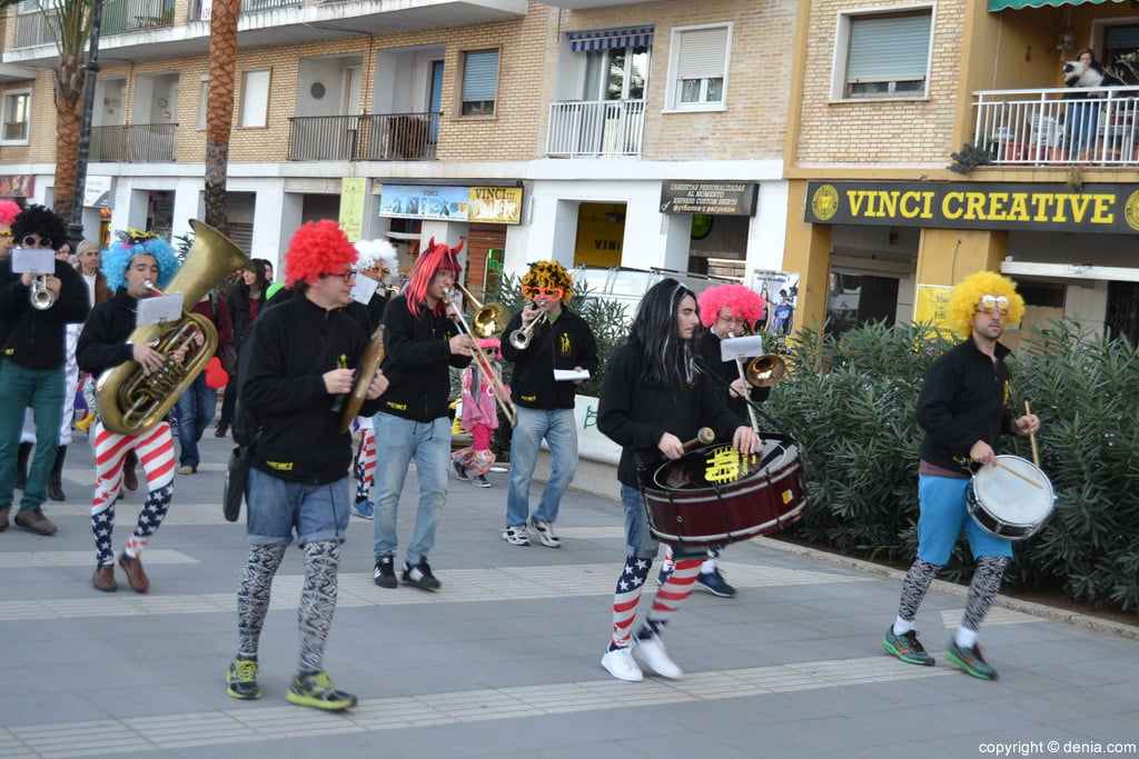 Children's Carnival Dénia 2016 - Parade