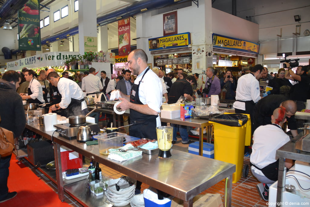 5º Concurso Internacional de Cocina Creativa de la Gamba Roja de Dénia – Mercat de Dénia