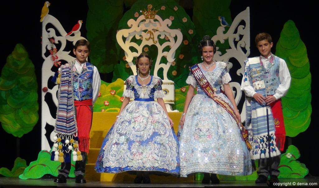 Presentació infantil Darrere del Castell 2016 - Càrrecs infantils 2015