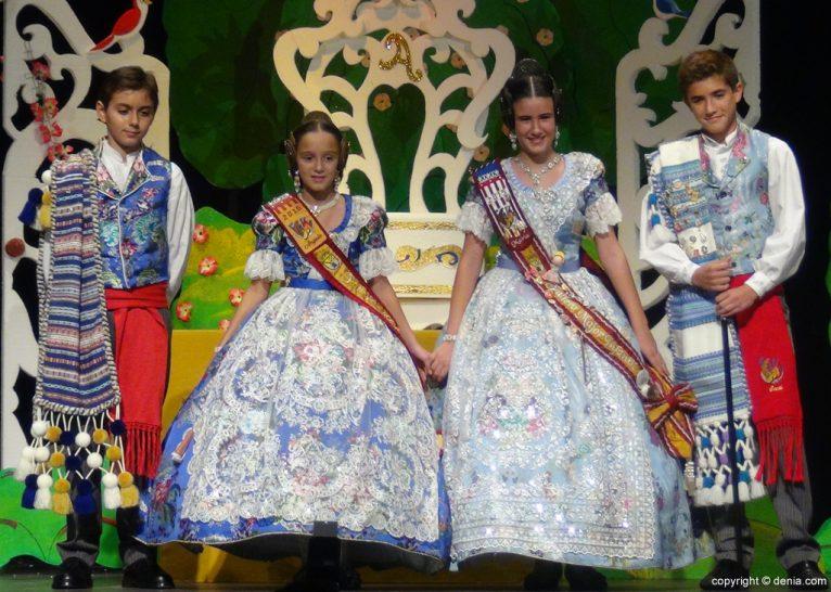Presentació infantil Darrere de l'Castell 2016 - Càrrecs infantils 2015