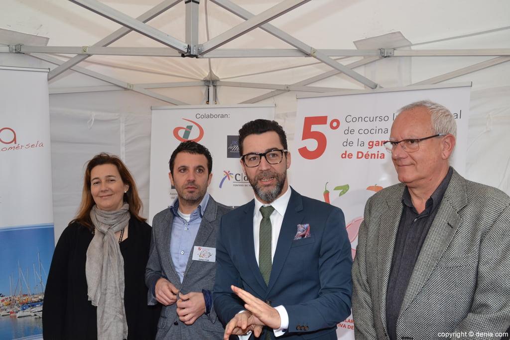 5º Concurso Internacional de Cocina Creativa de la Gamba Roja de Dénia – Rueda de prensa