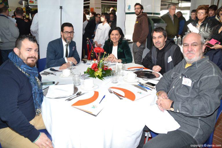 5º Concurso Internacional de Cocina Creativa de la Gamba Roja de Dénia - Miembros del Jurado