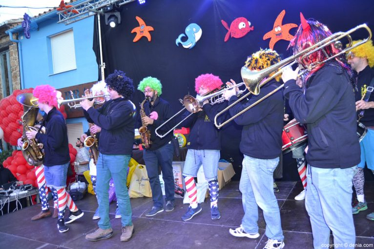 Dénia 2016 Children's Carnival - Band Puppies