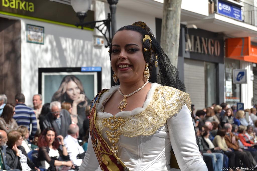 Ofrena de flors Falles de Dénia 2014 - Darrere del Castell - Noelia alcaid