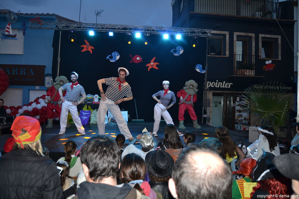 children's carnival Dénia 2016 - Mini Disco