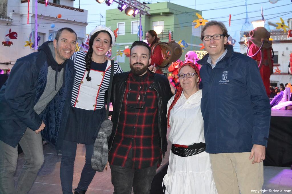 Dénia 2016 children's carnival - Jury