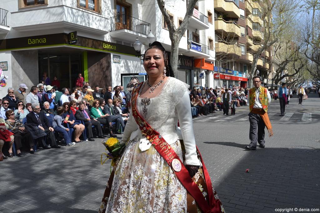 Ofrena de flors Falles de Dénia 2014 - Darrere de l'Castell - Tere Vallalta