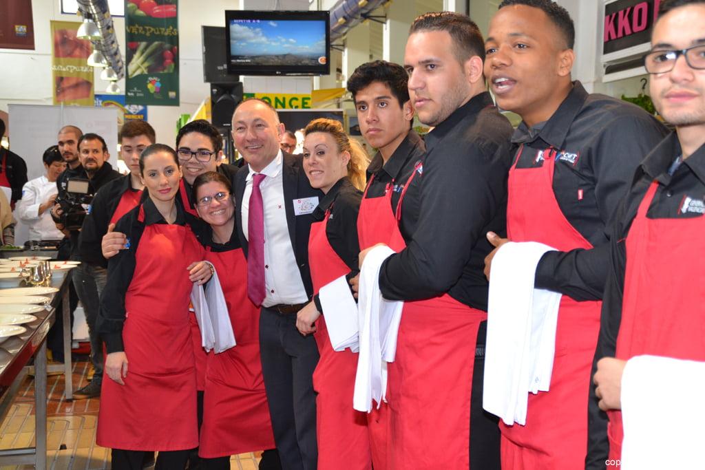 5º Concurso Internacional de Cocina Creativa de la Gamba Roja de Dénia – Alumnos del CDT