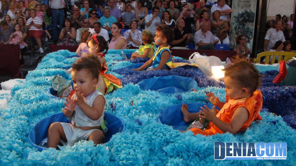 Carrozas de Dénia 2011 – Comparsa infantil de Saladar
