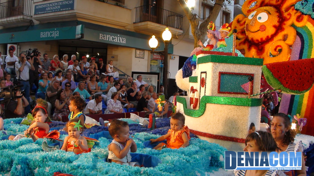 Carrozas de Dénia 2011 – Carroza infantil de Saladar