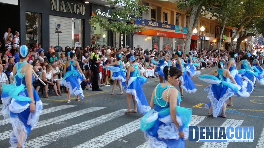 Carrozas de Dénia 2011 – Comparsa de Saladar