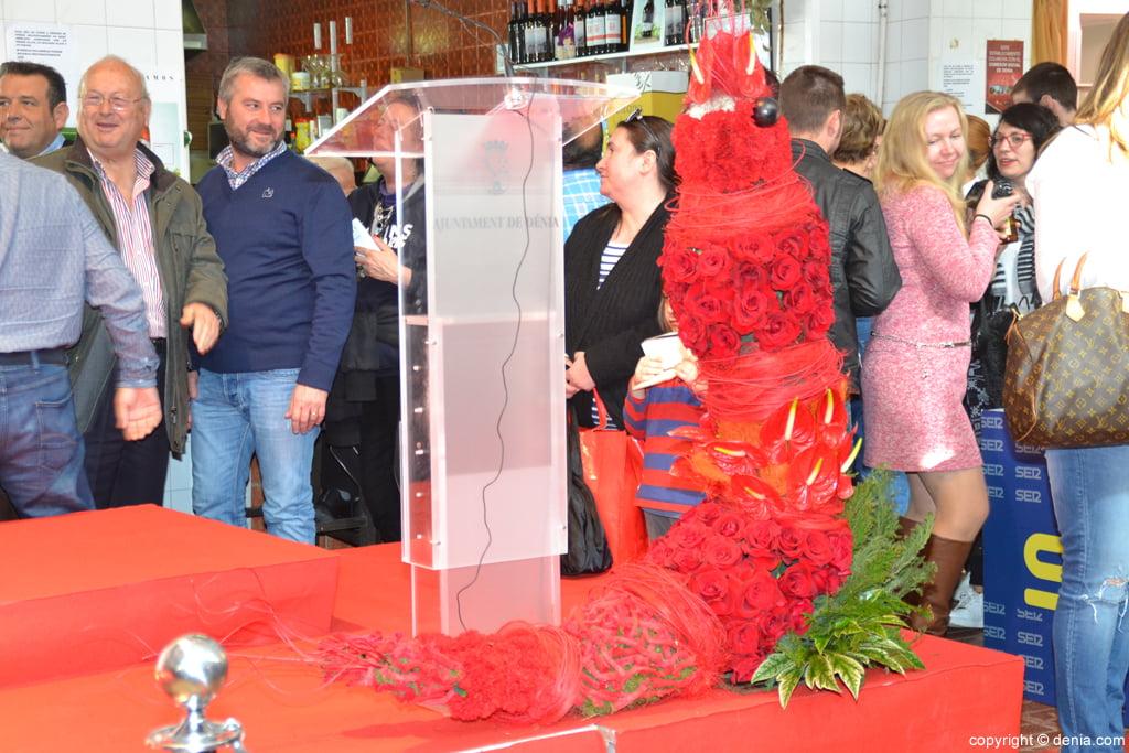 5º Concurso Internacional de Cocina Creativa de la Gamba Roja de Dénia – Gamba hcha de flores