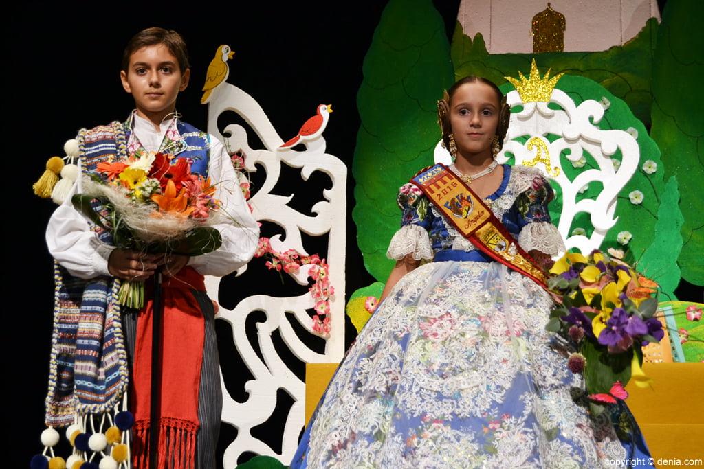Presentació infantil Darrere del Castell 2016 - Abel i Ángela