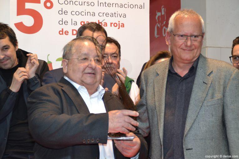 5º Concurso Internacional de Cocina Creativa de la Gamba Roja de Dénia - Homenaje a jaime Gavilà