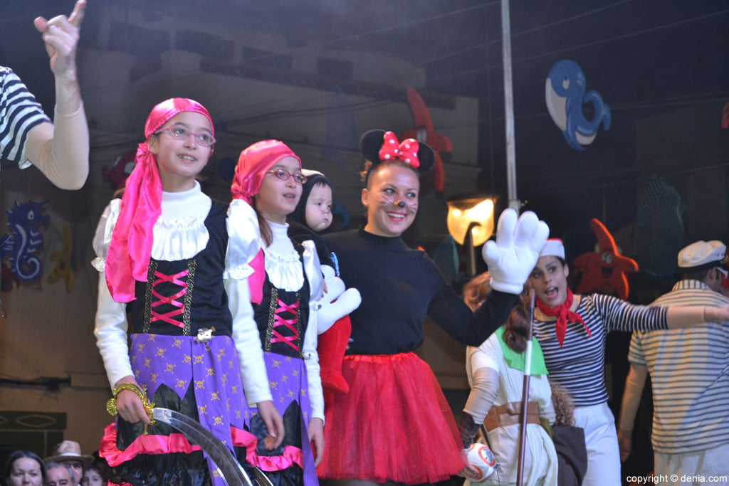 Children's Carnival Dénia 2016 - Parade of participants