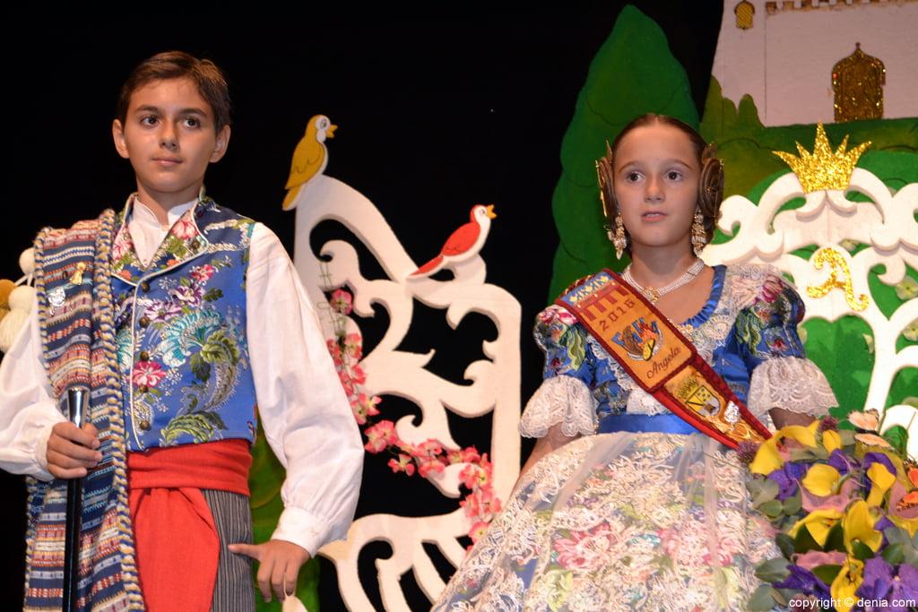 Presentació infantil Darrere de l'Castell 2016 - Abel i Ángela