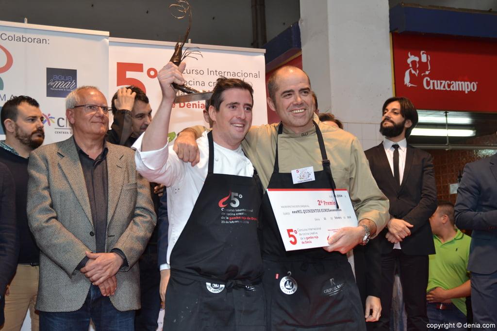 5º Concurso Internacional de Cocina Creativa de la Gamba Roja de Dénia – 2º premio Guillermo Marín