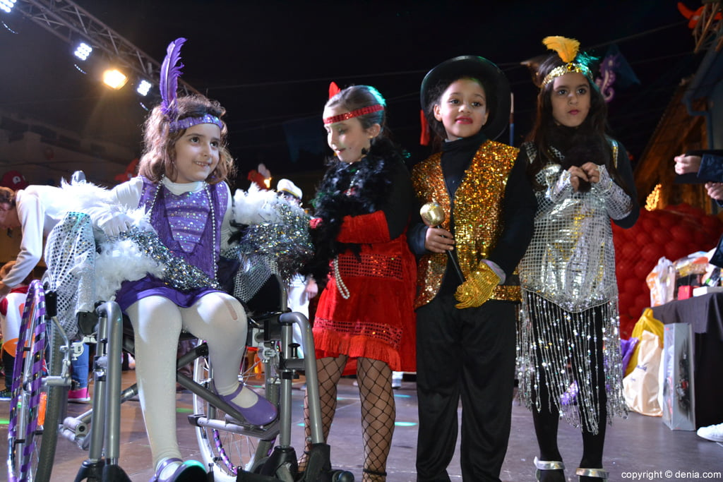 Children Carnival Dénia 2016 - Parade participants
