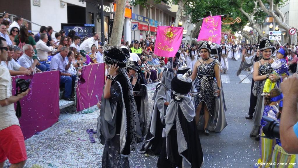 Carrosses Dénia 2015 - Comparsa Darrere de l'Castell