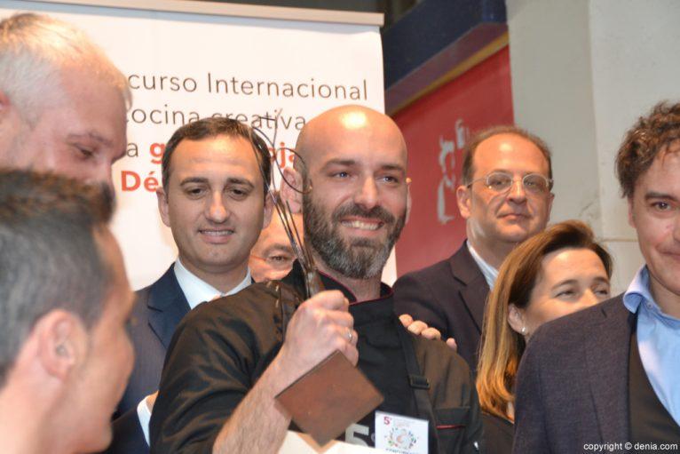 5º Concurso Internacional de Cocina Creativa de la Gamba Roja de Dénia - Álvaro Abad gana
