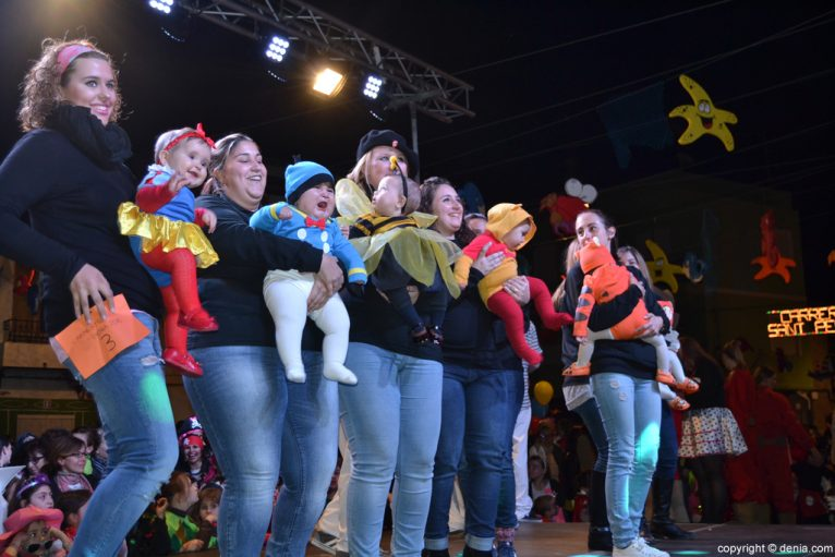 Children's Carnival Dénia 2016 - Parade of participants