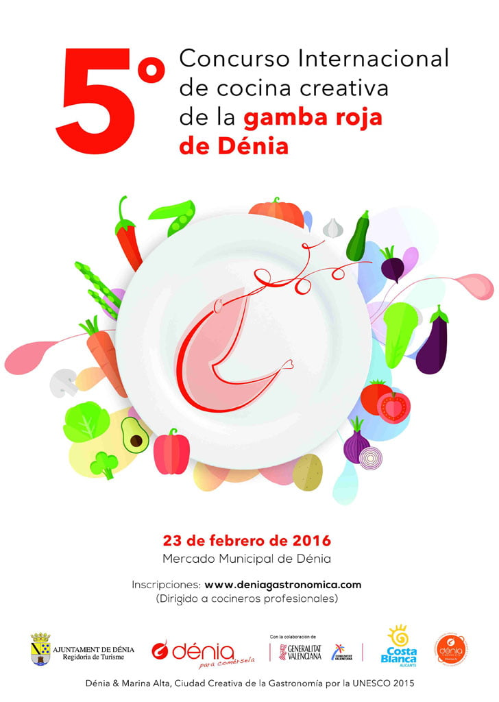 5º Concurso Internacional de Cocina Creativa de la Gamba Roja de Dénia