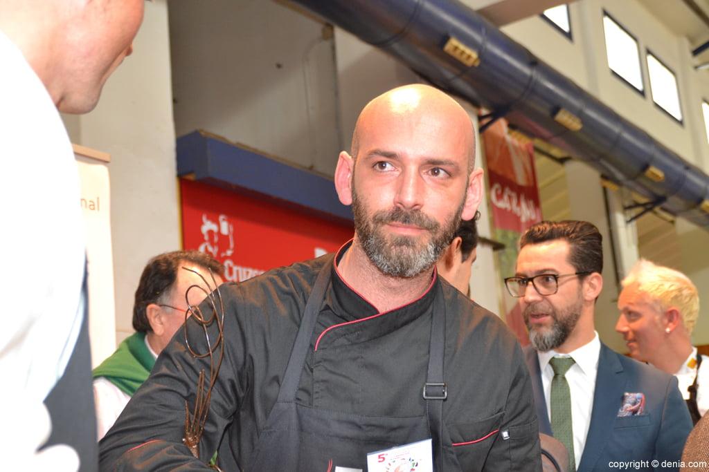 5º Concurso Internacional de Cocina Creativa de la Gamba Roja de Dénia – Álvaro Abad