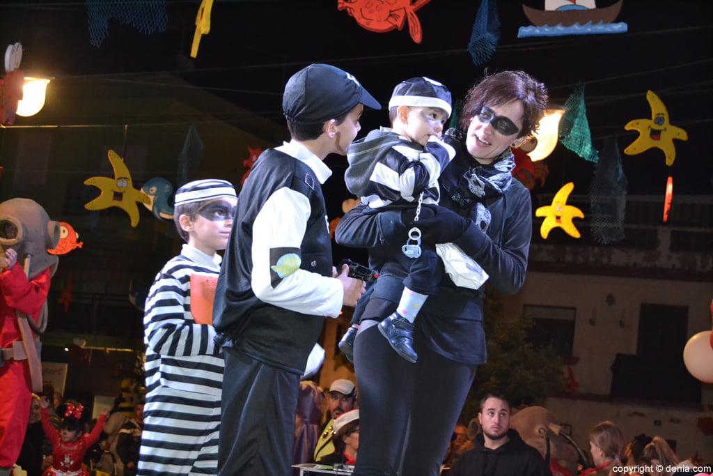 Dénia 2016 children's carnival - Parade participanrtes