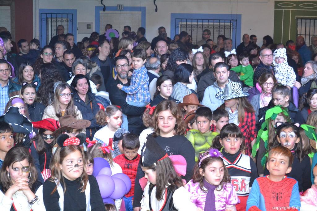 Dénia 2016 children's carnival - Public