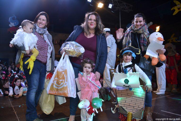 Children's Carnival Dénia 2016 - Mini category awards