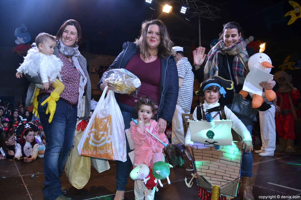 Dénia 2016 children's carnival - category mini Awards