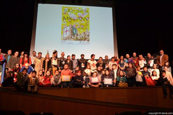 Mig Any Dénia 2016 - ganadores del concurso de dibujo infantil