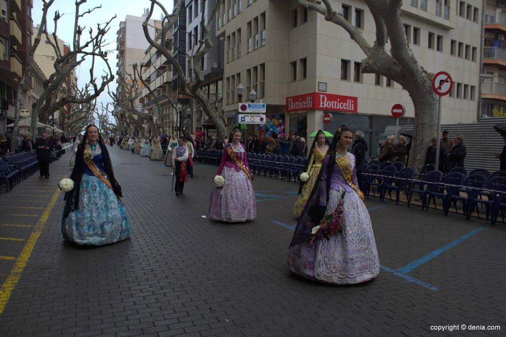 Ofrenda Flores Fallas Dénia 2015 – Falla Saladar