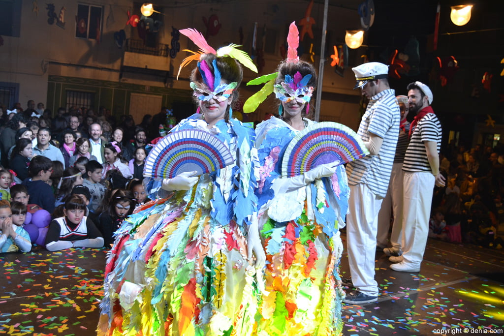 children's carnival Dénia 2016 - 1º Duo Award Category