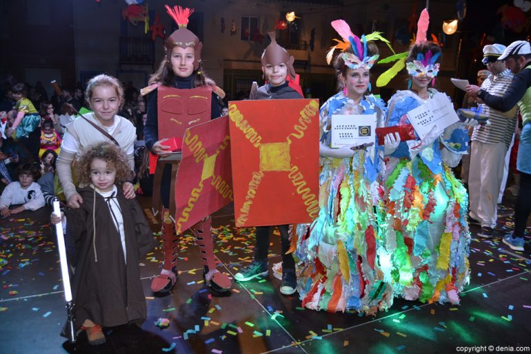 Dénia 2016 children's carnival - Duo category awards