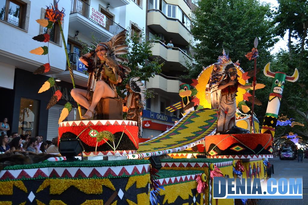 Carrosses de Dénia 2013 - Falla Darrere de l'Castell