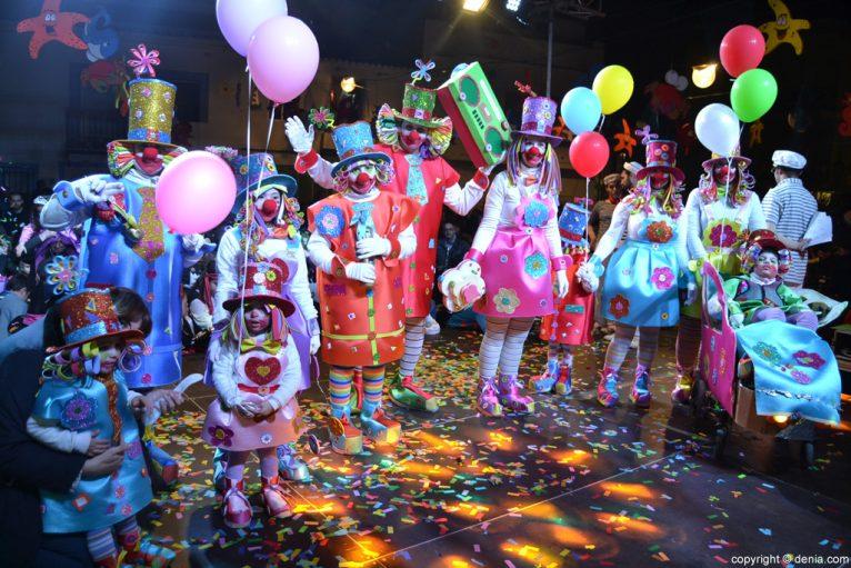 children's carnival Dénia 2016 - 1º Comparsa Award