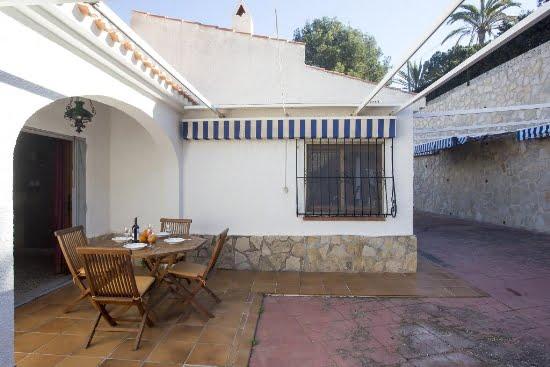Àmplia terrassa de Casa Luna