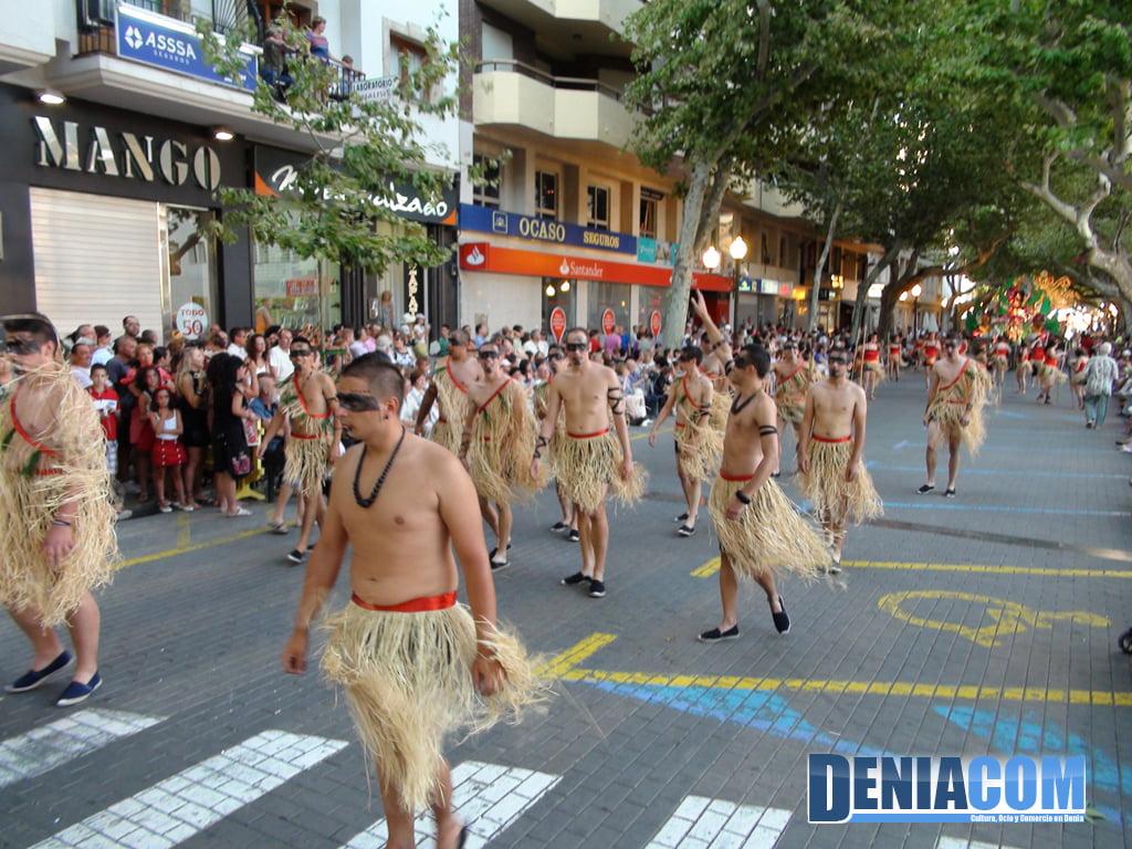 Carrozas de Dénia 2011 – Comparsa de Camp Roig (2)