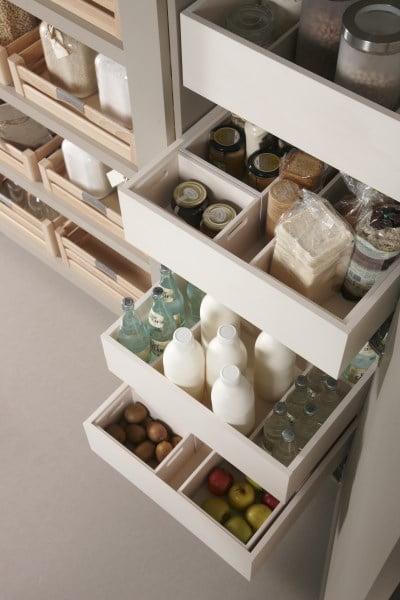 Arkadia kitchen drawers