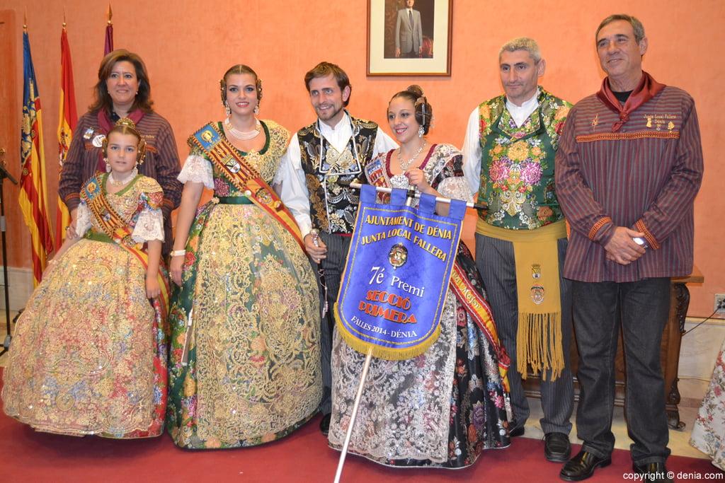 Fallas Dénia 2014 – Falla camp Roig – 7º Premio