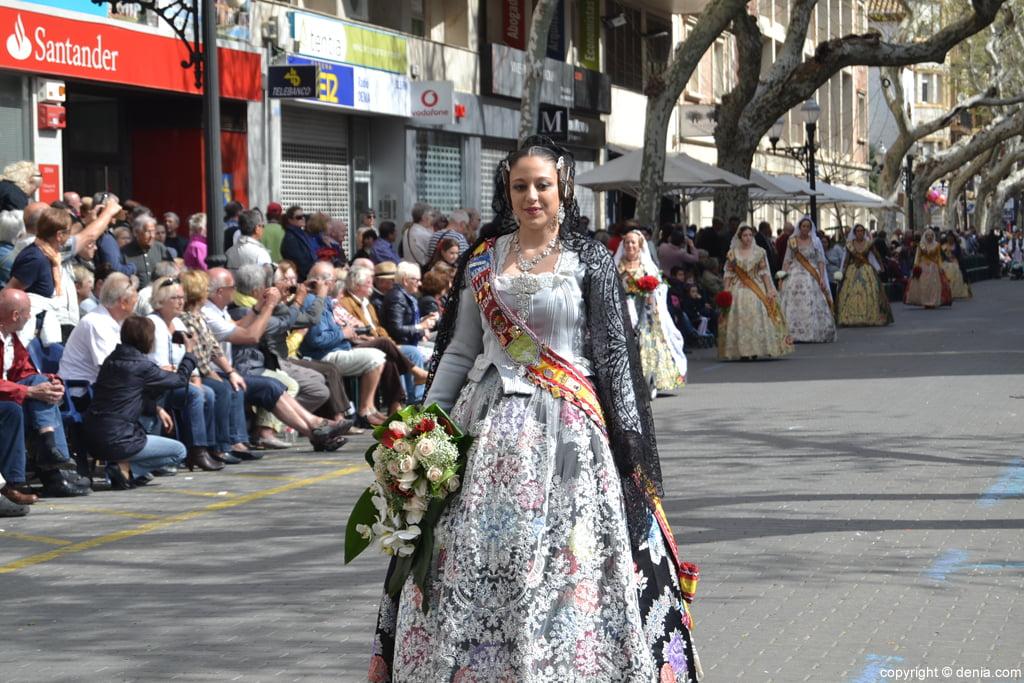 Ofrenda de flores Fallas de Dénia 2014 – Camp Roig – Cristina Vallalta