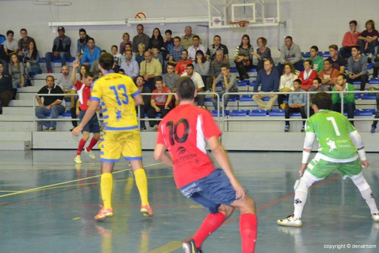 Partido de Dénia Futsal en liga