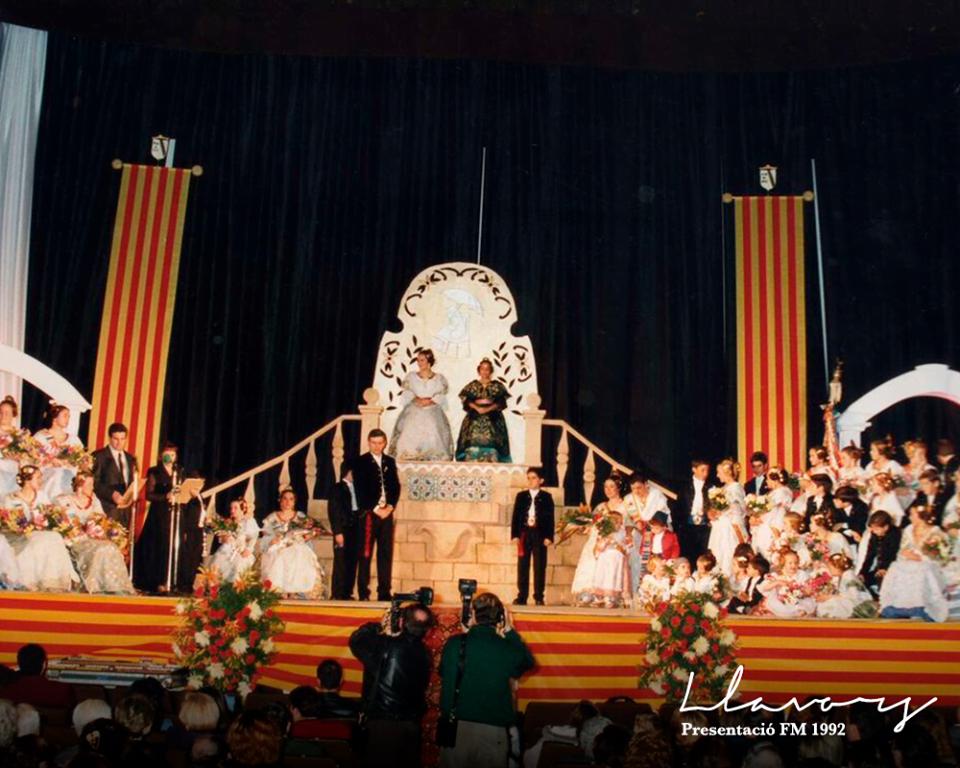 Presentación Saladar 1992